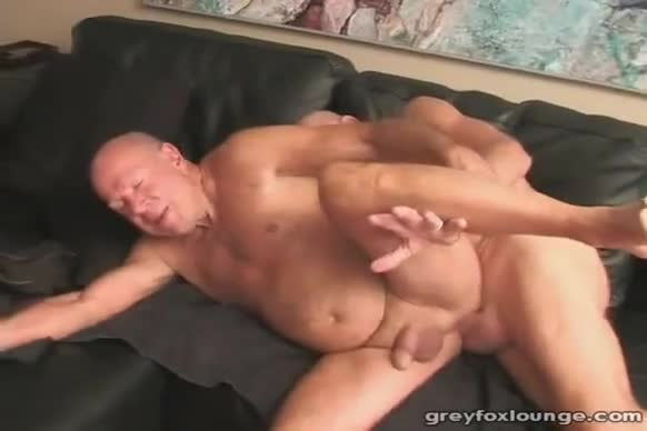 Girl takes load in ass