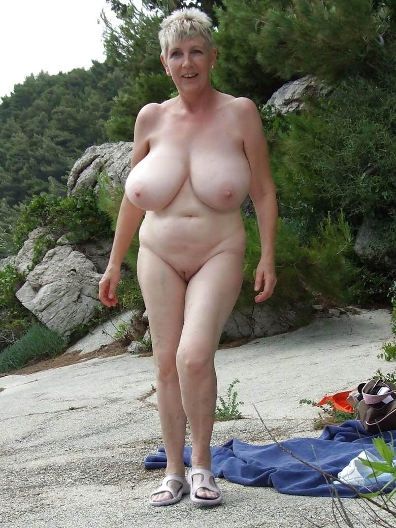 Nice Big Tits Granny - Naked grandma with big boobs - Hot porno. Comments: 1