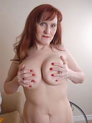 Seems excellent busty mature redhead nude women urbanization any
