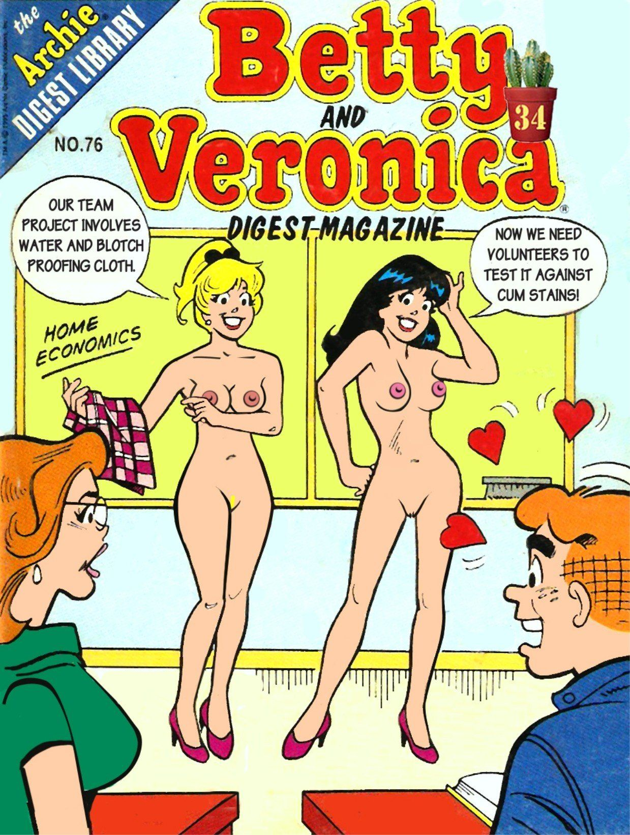 Veronica betty naked