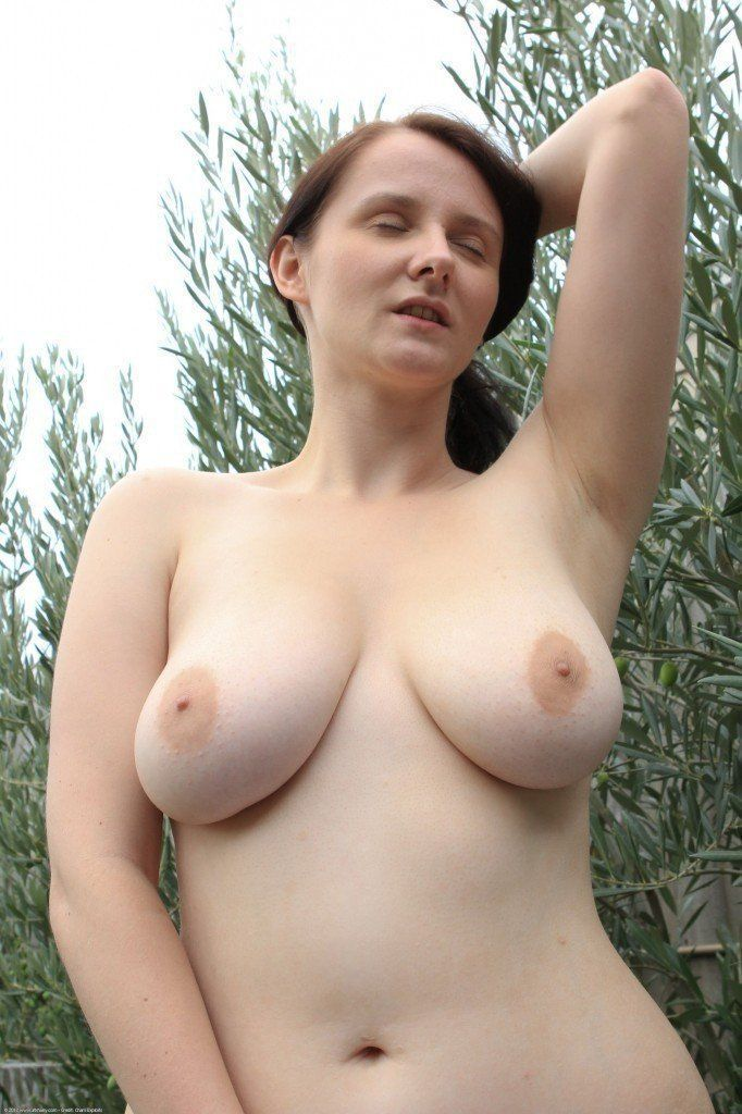Young amateur lover naked