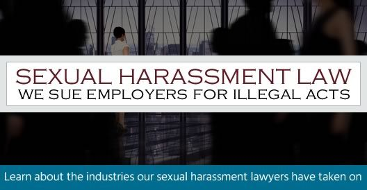 NFL reccomend Sexual harrassment lawyer referral service