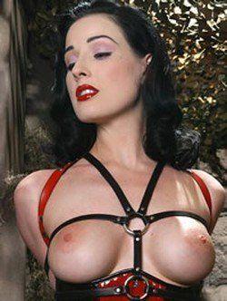 Dita von tesse pornographic lesbian movie