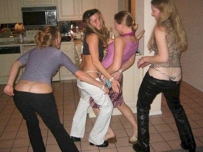 Boys spanking girls