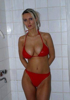 Mad D. reccomend Milf bikini galleries