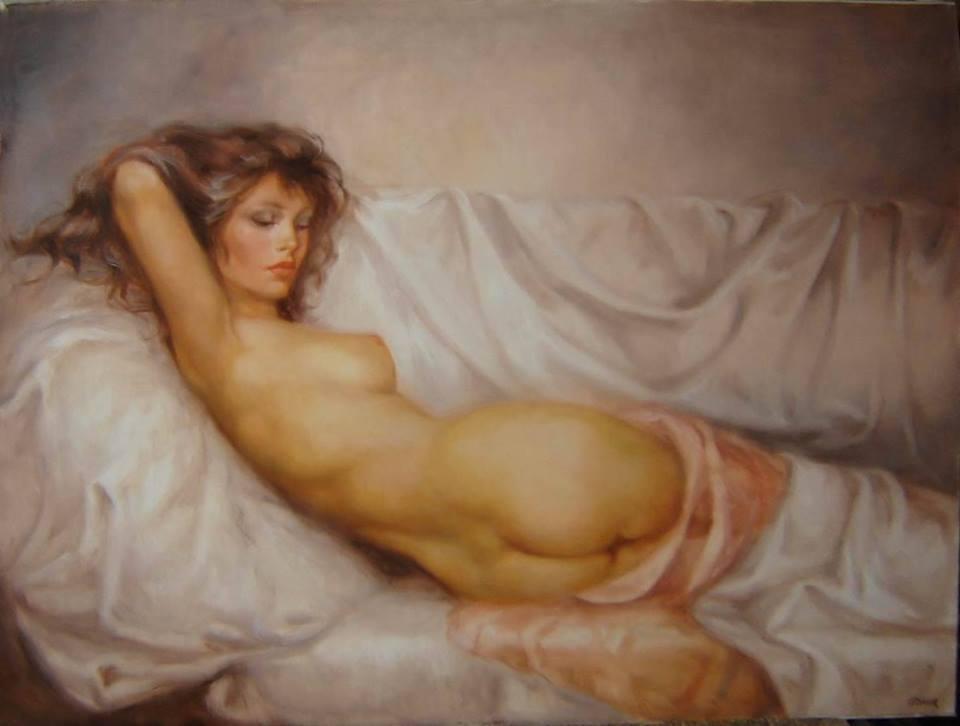 best of Female nude painting Erotic