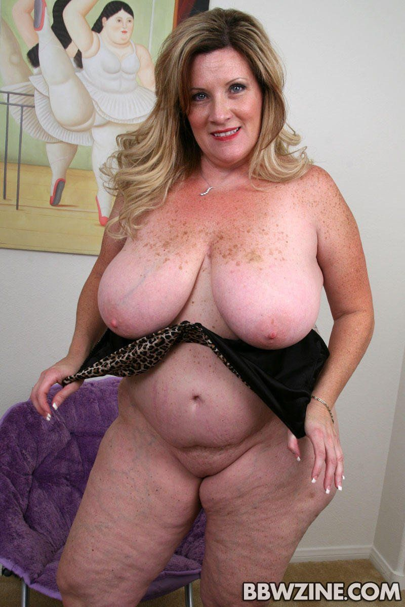 Big tits mature plump