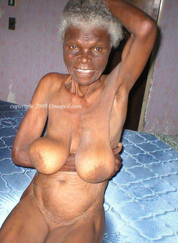 ebony nude granny