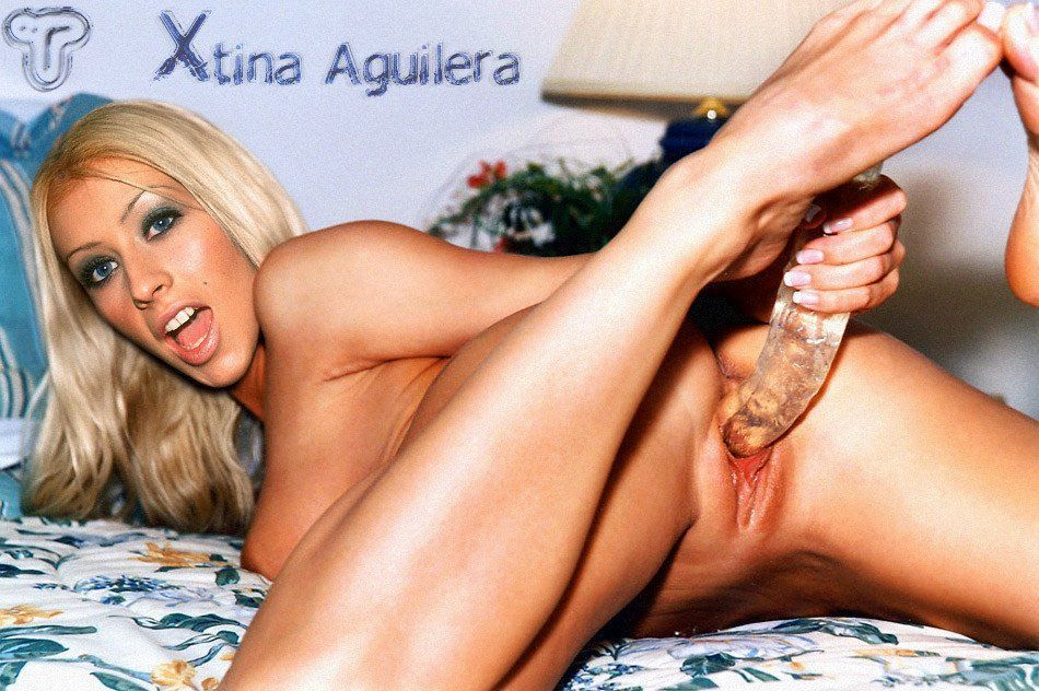 Christina aguilera naked dildo photos