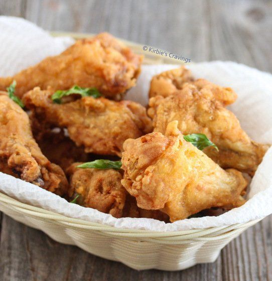 best of Fried wings Asian chicken