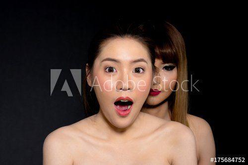 Asian lesbians lick each other