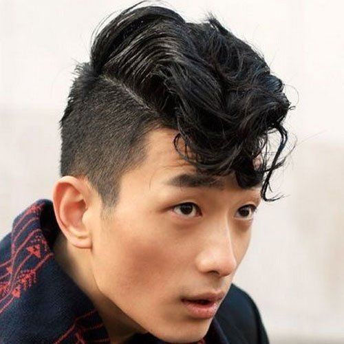 Husky reccomend Asian men short hair style