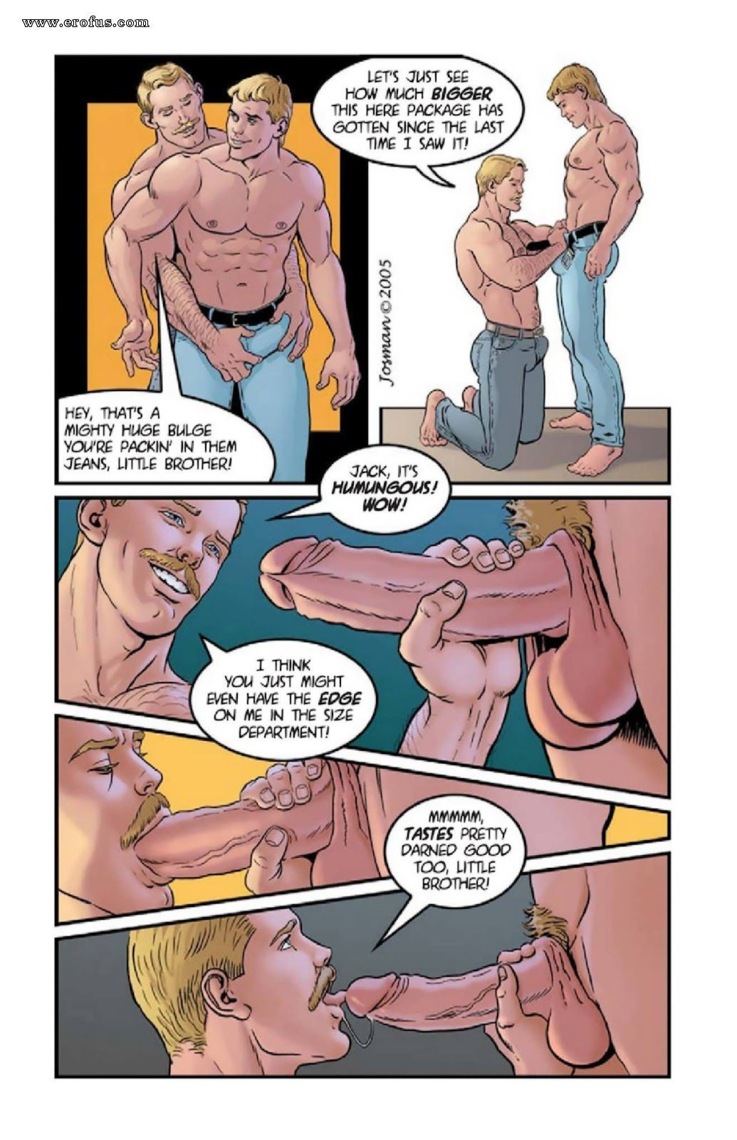 best of Gay josman Comic