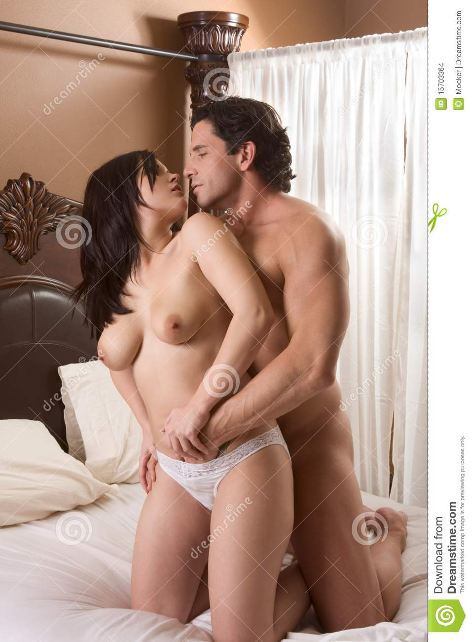 For the nude couples having sex in bedroom