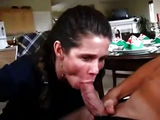 Amateur surprise blowjob