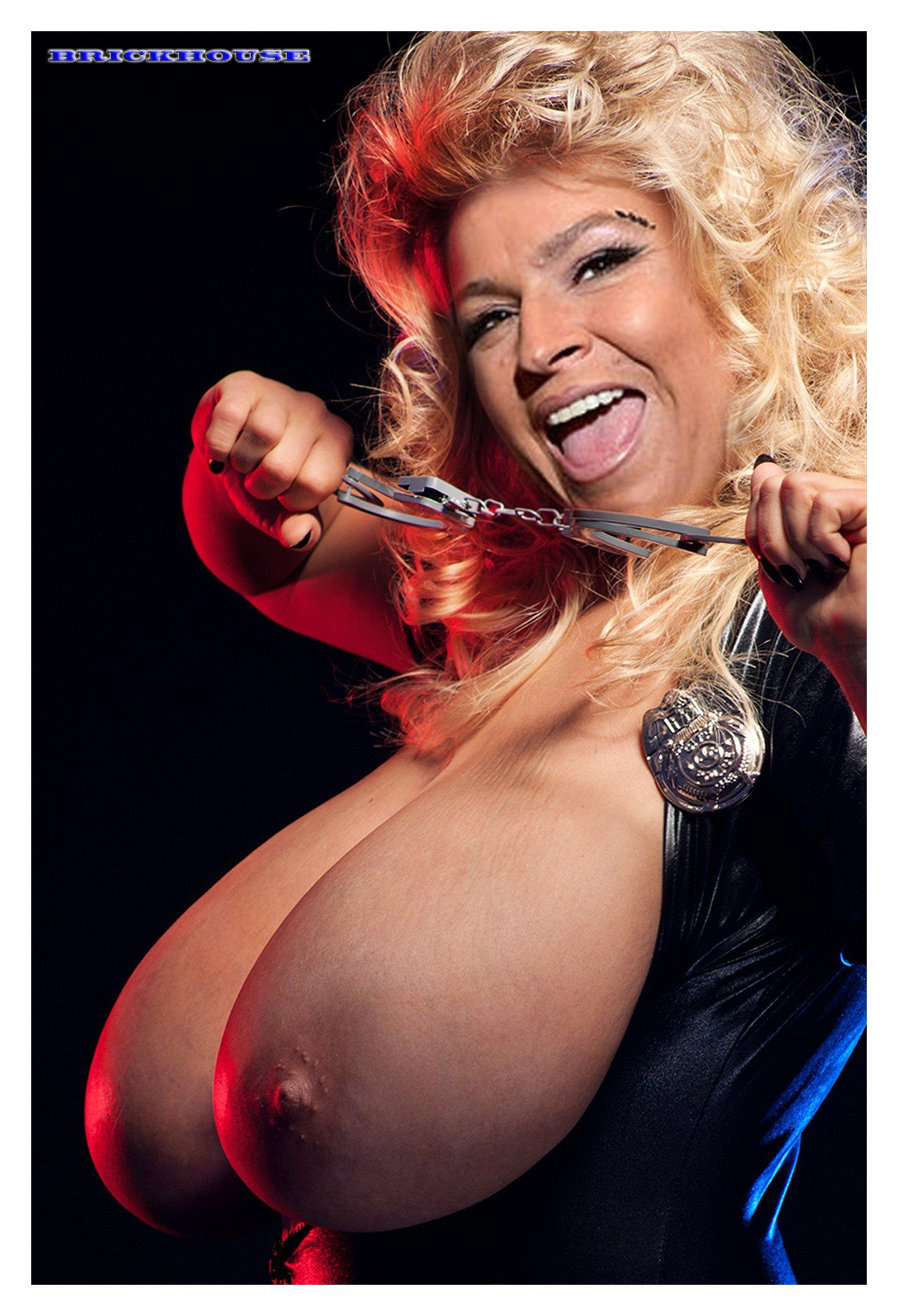 Something is. beth chapman big boobs charming