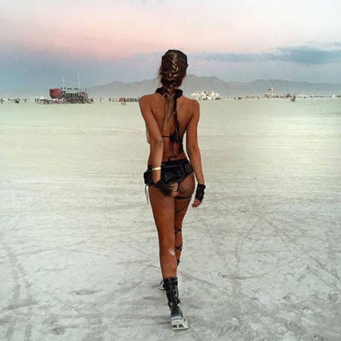 Removed burning man nudes pussy something