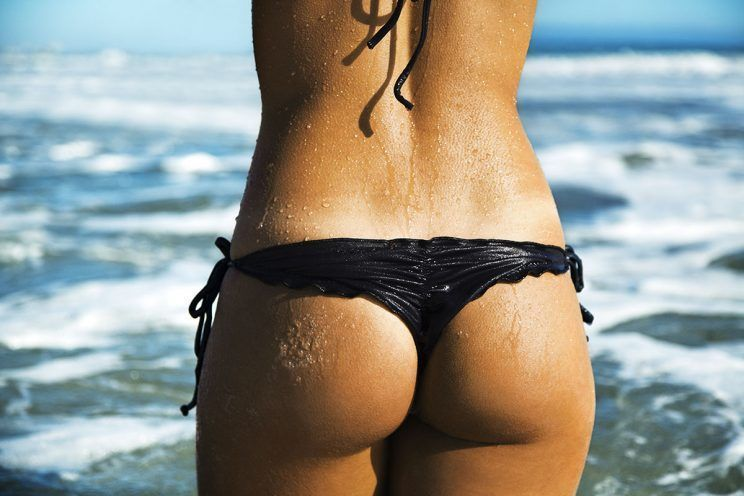 best of Off pulled Bikini bottom