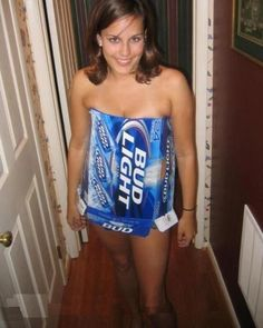 Naked bud light girl