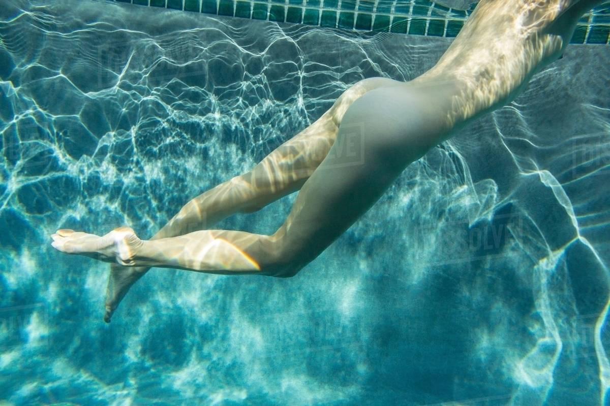 Naked girl in crocs