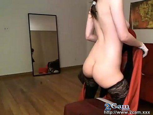 Hot naked girl gets fucked gif