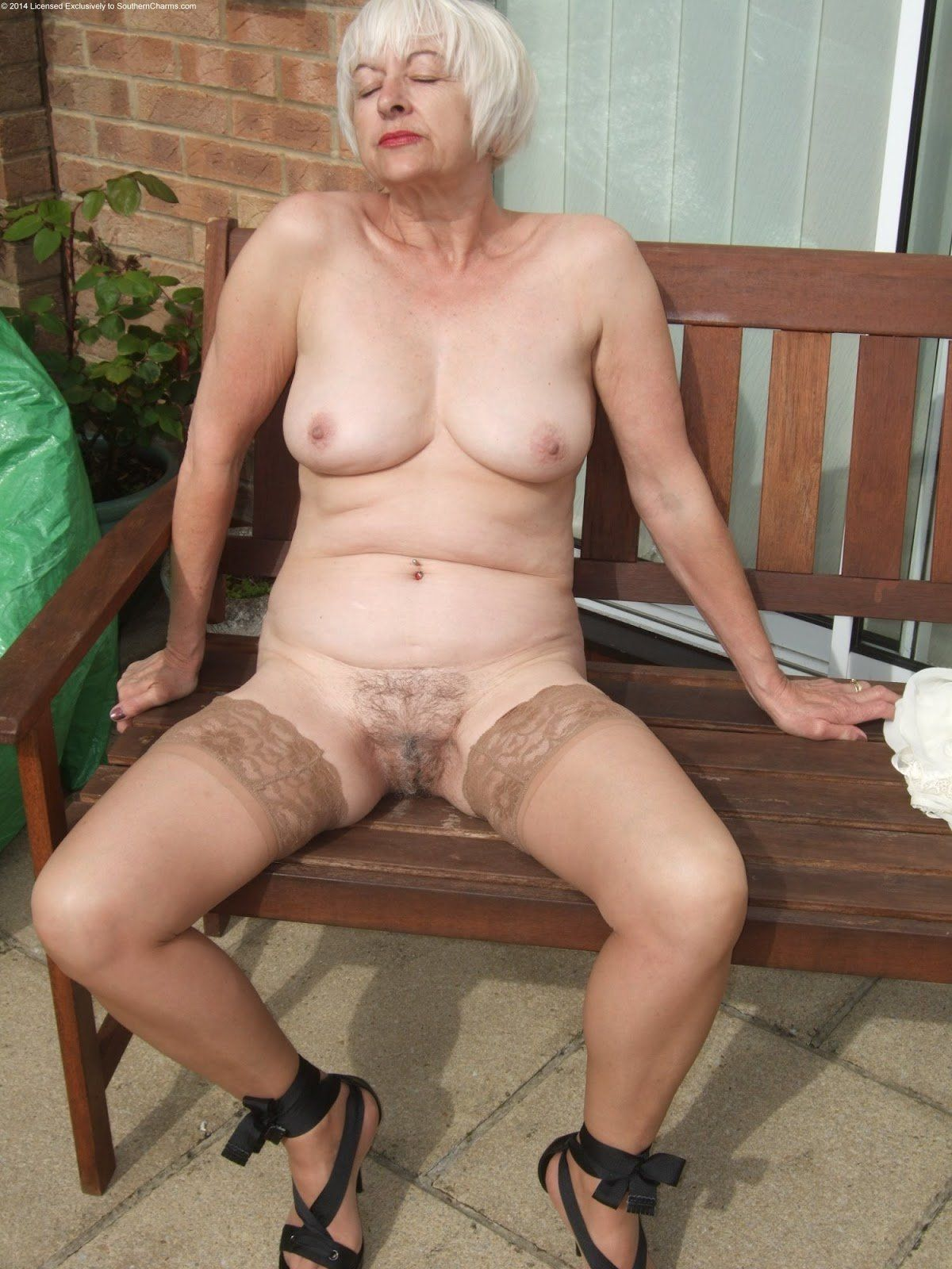 Naked oldest women