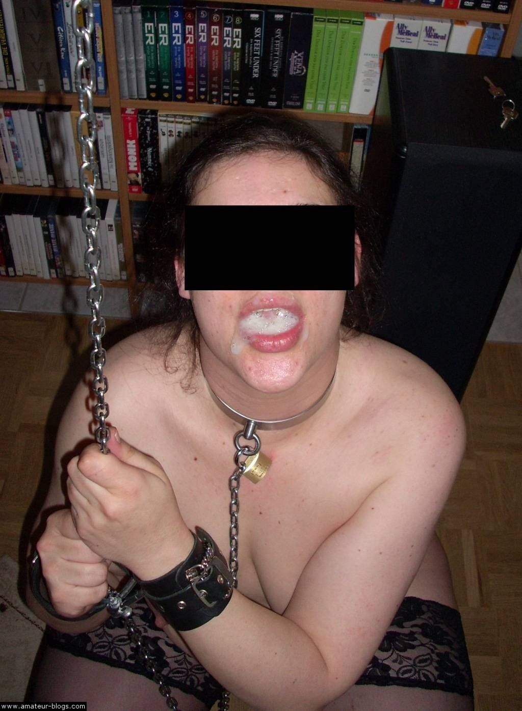 Apologise, but, amateur slave training