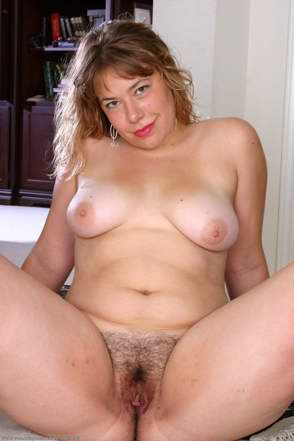 Fat hairy mature nudist foto 14