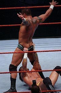 Winger reccomend Cm punk naked butt