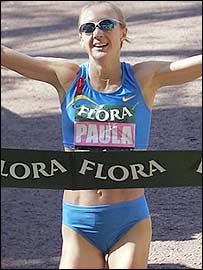 Think, that paula radcliffe pissing pictures