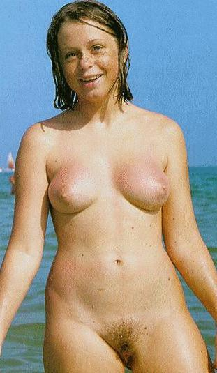 Nudist life at home