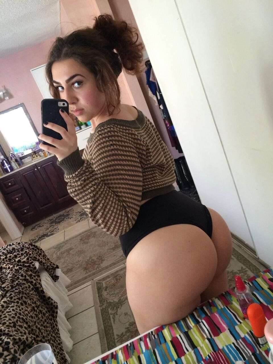 teenage girls with big asses
