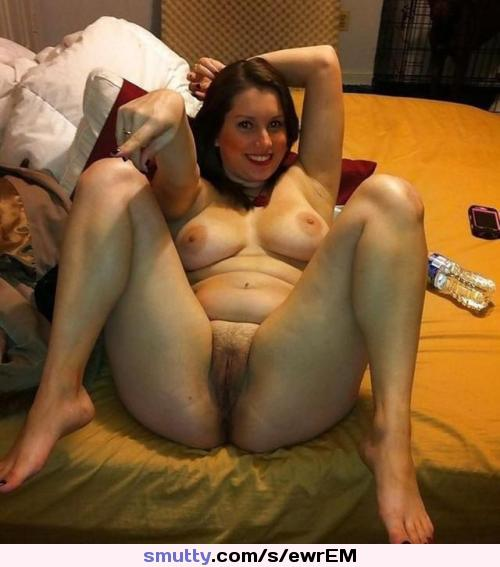 Amateur milf with legs spread remarkable