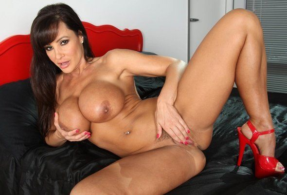 American busty pornstar naked