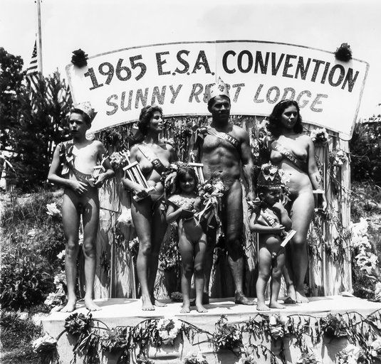 Family nudist beauty pageants