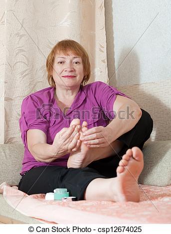 best of Mature Feet women of