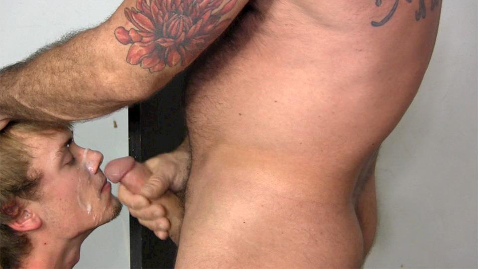 Gay gloryhole fascials
