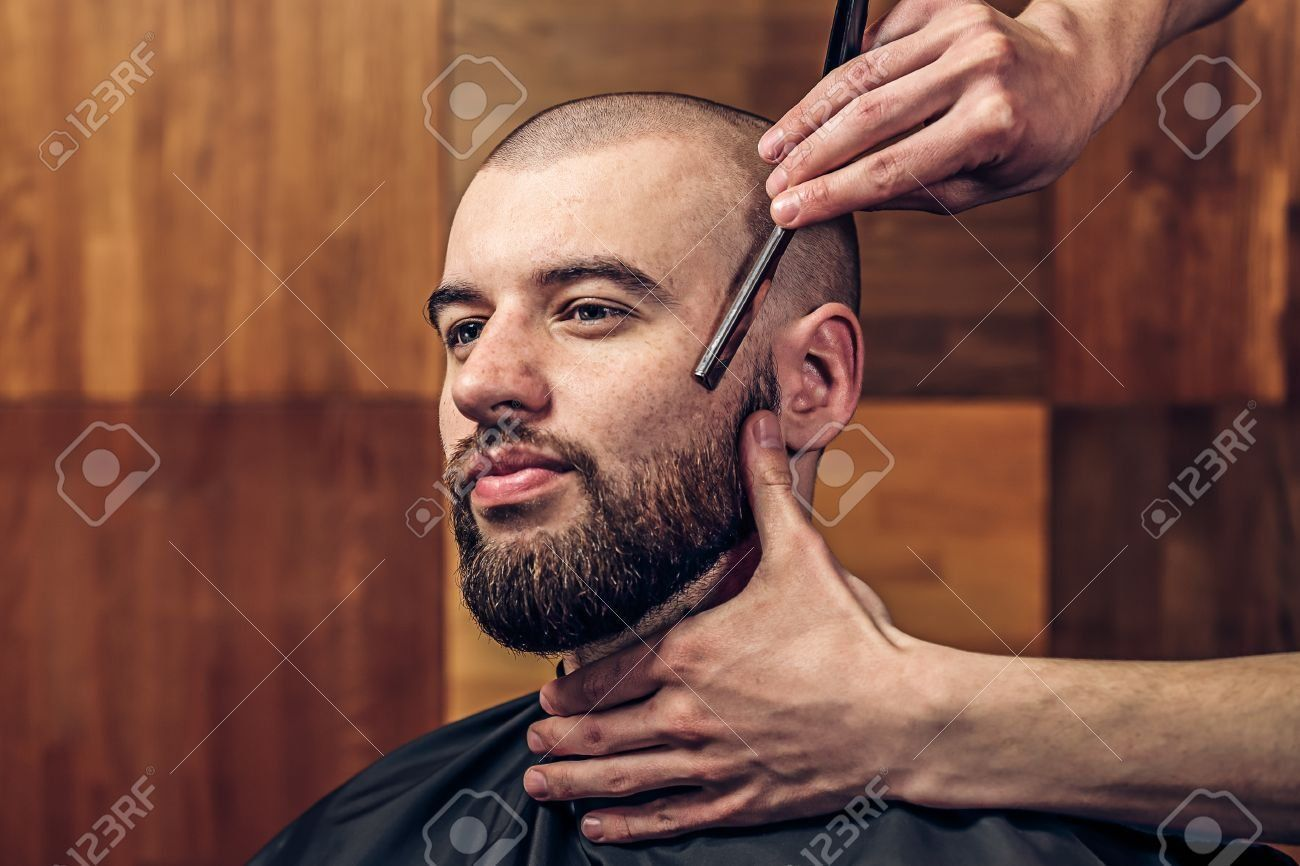 Getting shaved bald