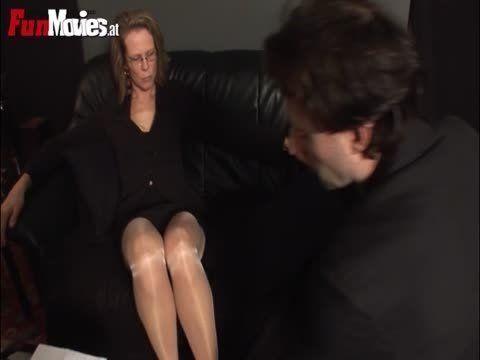 strong man spanks woman