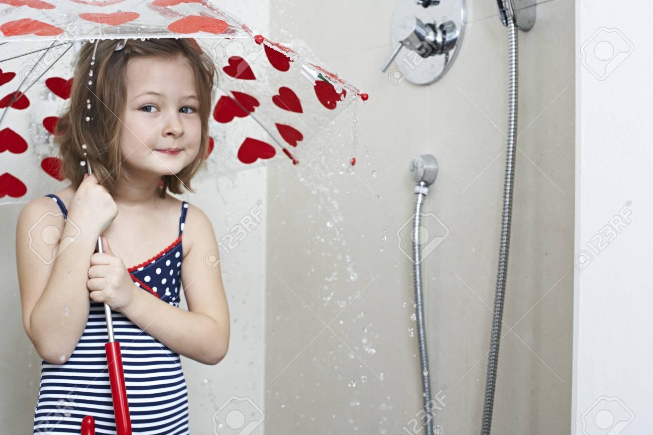 best of Taking shower Girl