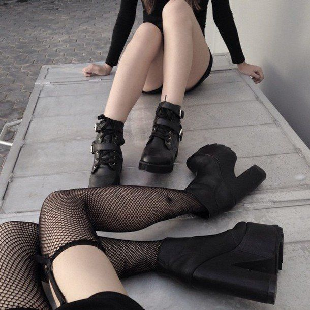 Wildcat reccomend Gothic fishnet pantyhose