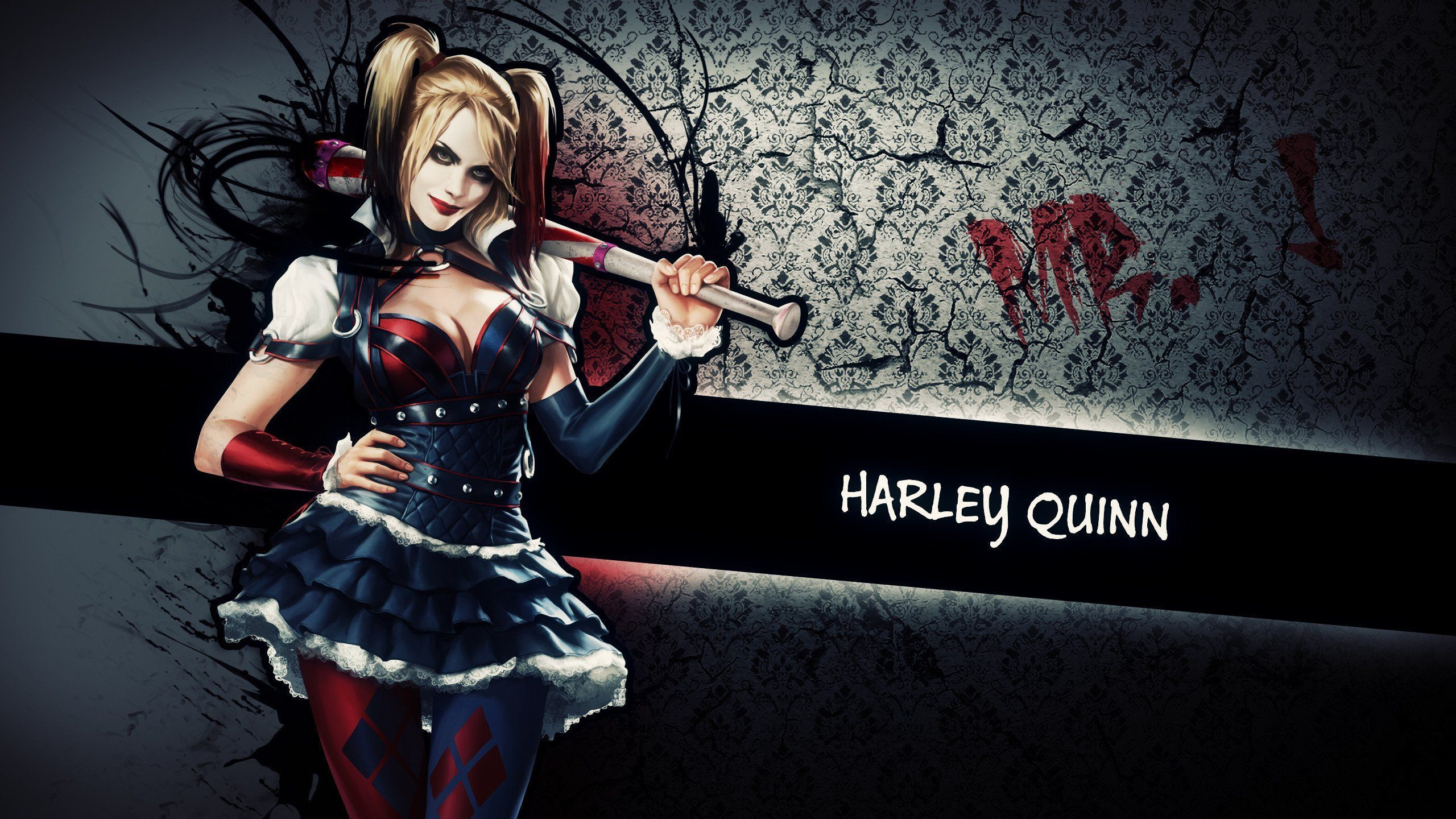 Harley quinn naked game version