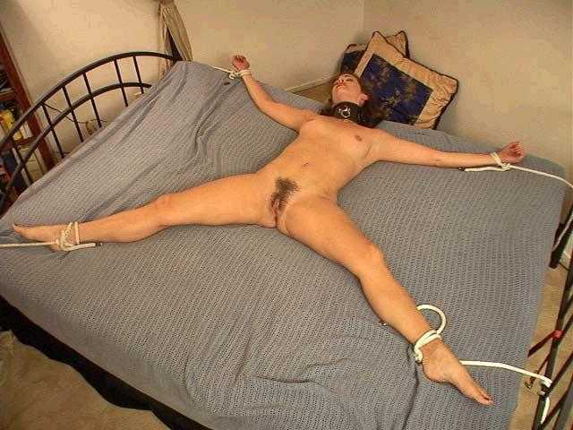 You My girlfriend tied to bed nude