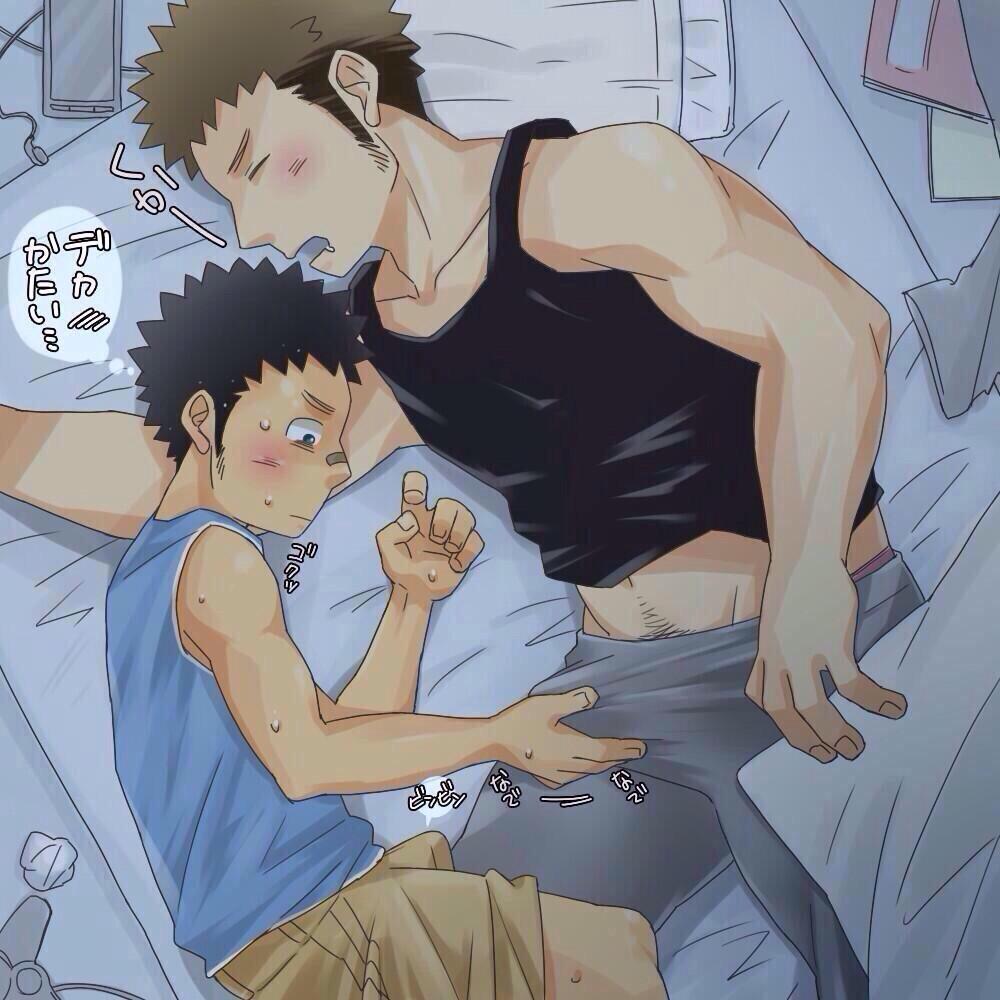Hot anime guys naked