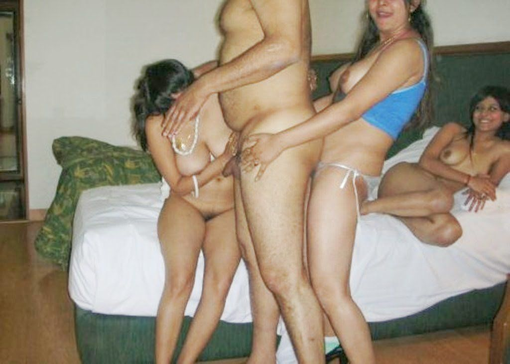 Group of indian naked women