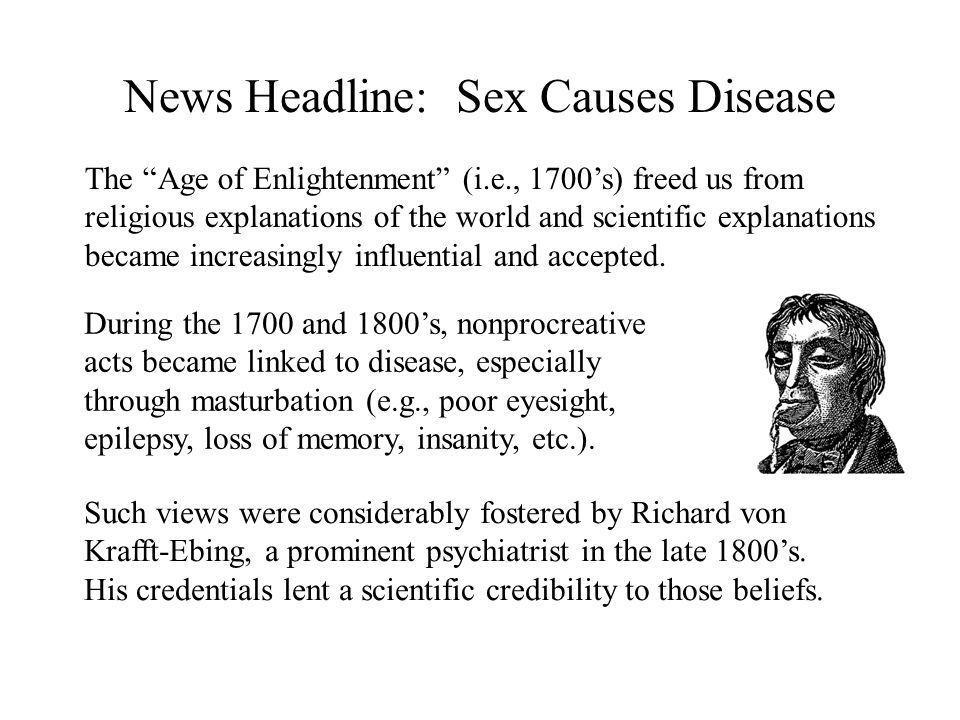 Insanity and masturbation scientific research