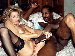Interracial vinage porn