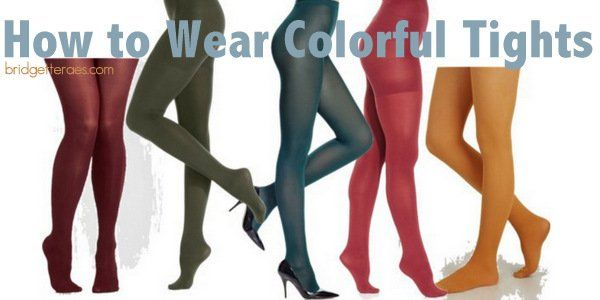 best of Colored pantyhose in Legs