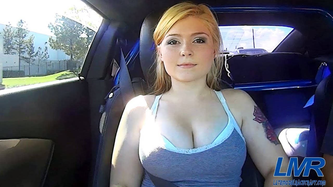 Very redhead girl car sex