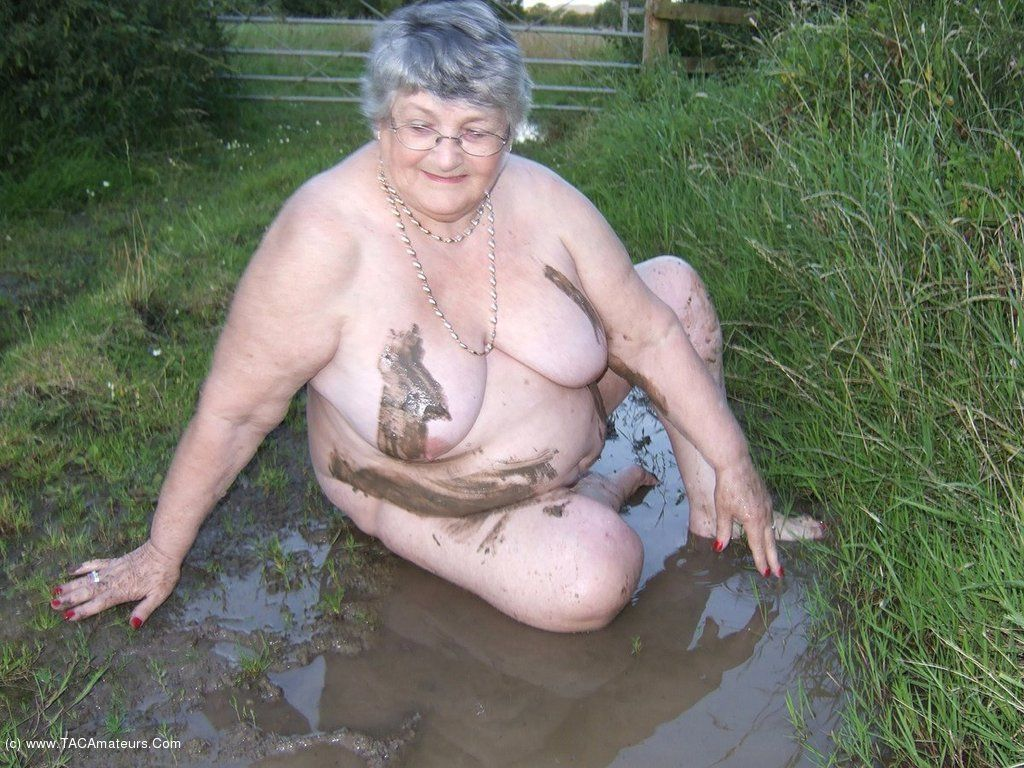 Mature fuck in mud milf